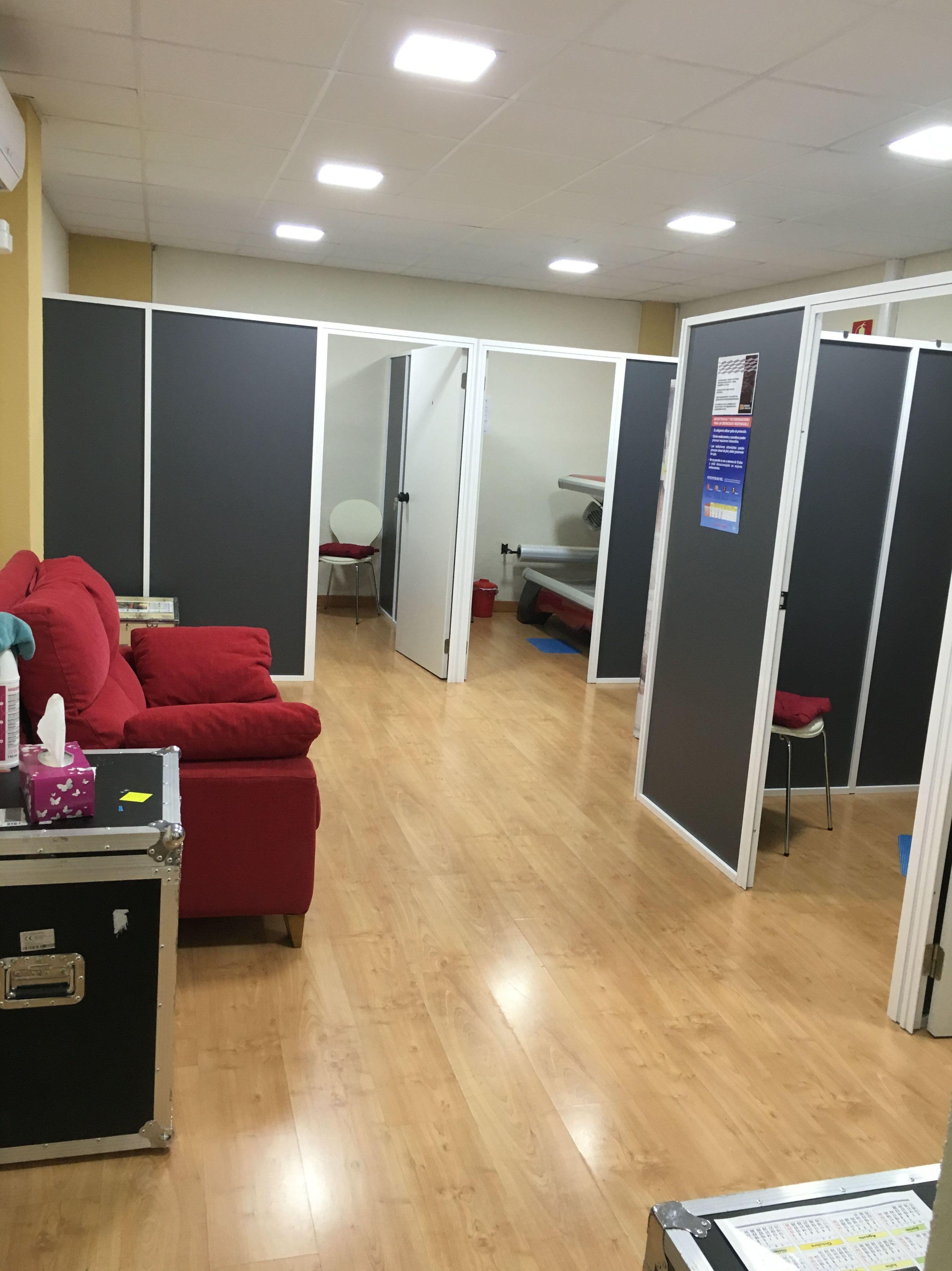 Solárium cabinas individuales