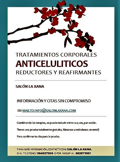 Tratamientos corporales anticelulíticos, reductores y reafirmantes en Oviedo