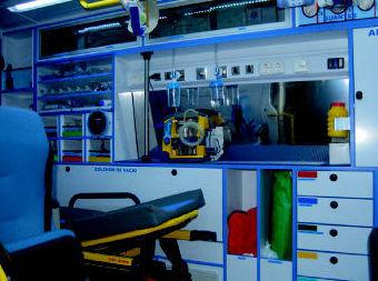 Ambulancias UVI movíl