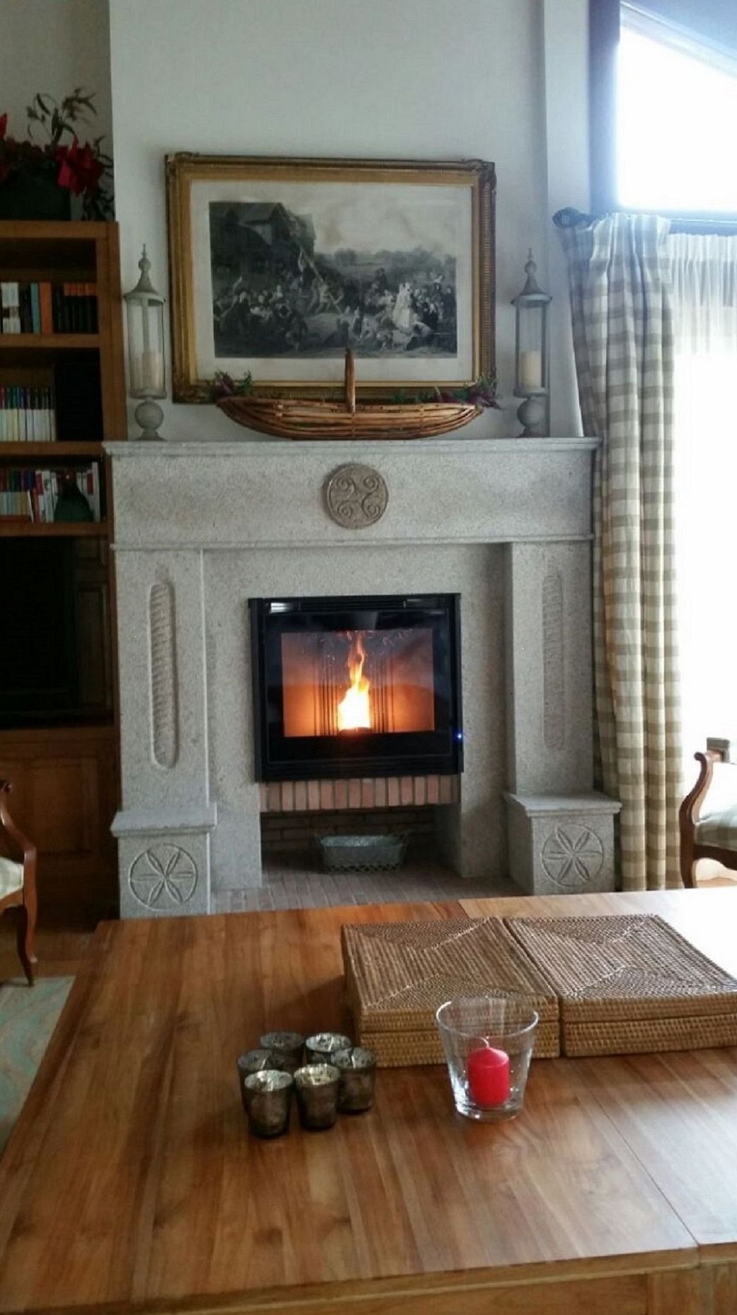 Revestimientos de chimeneas en asturias marmoler as - Revestimiento de chimeneas modernas ...