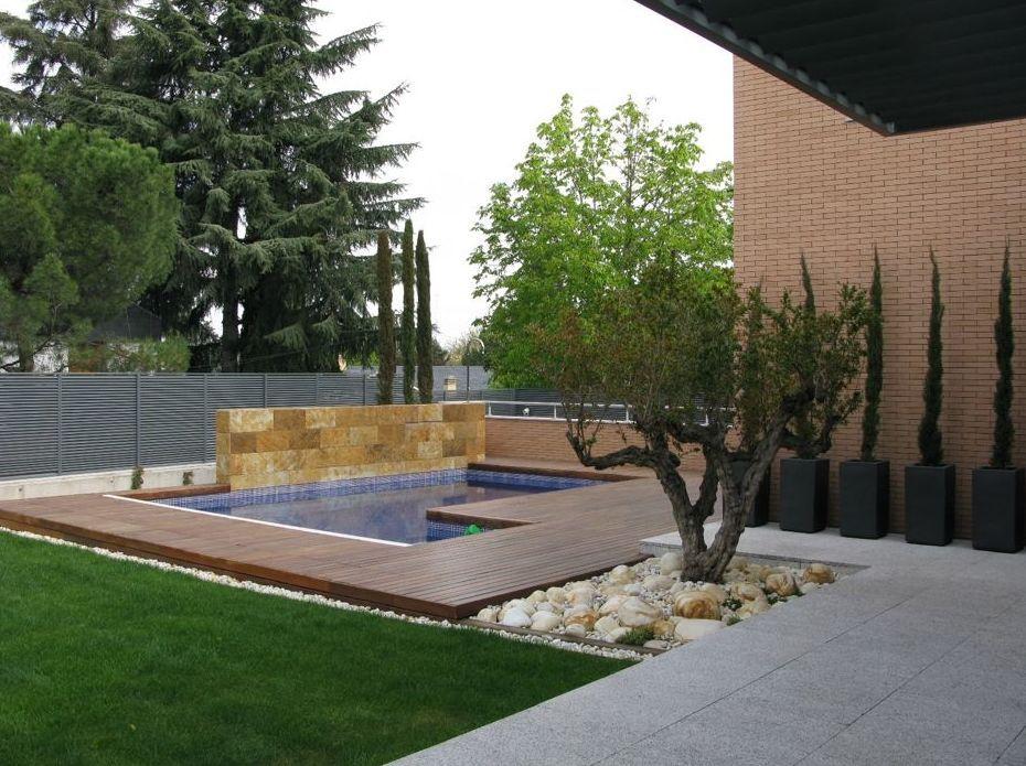 Galeria jardines modernos v rias id ias de - Disenos de jardines modernos ...