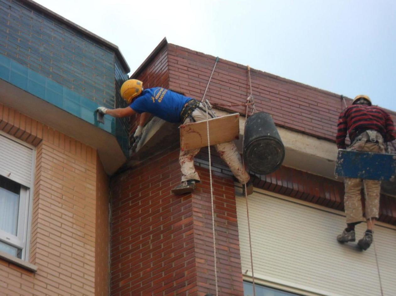 Trabajos verticales en Asturias