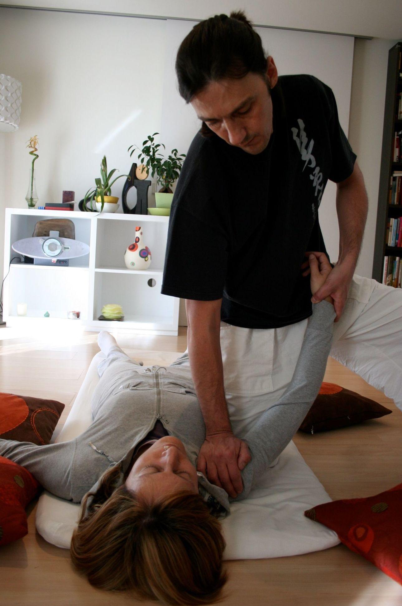 Pedro Gómez GIl, Shiatsu en Madrid