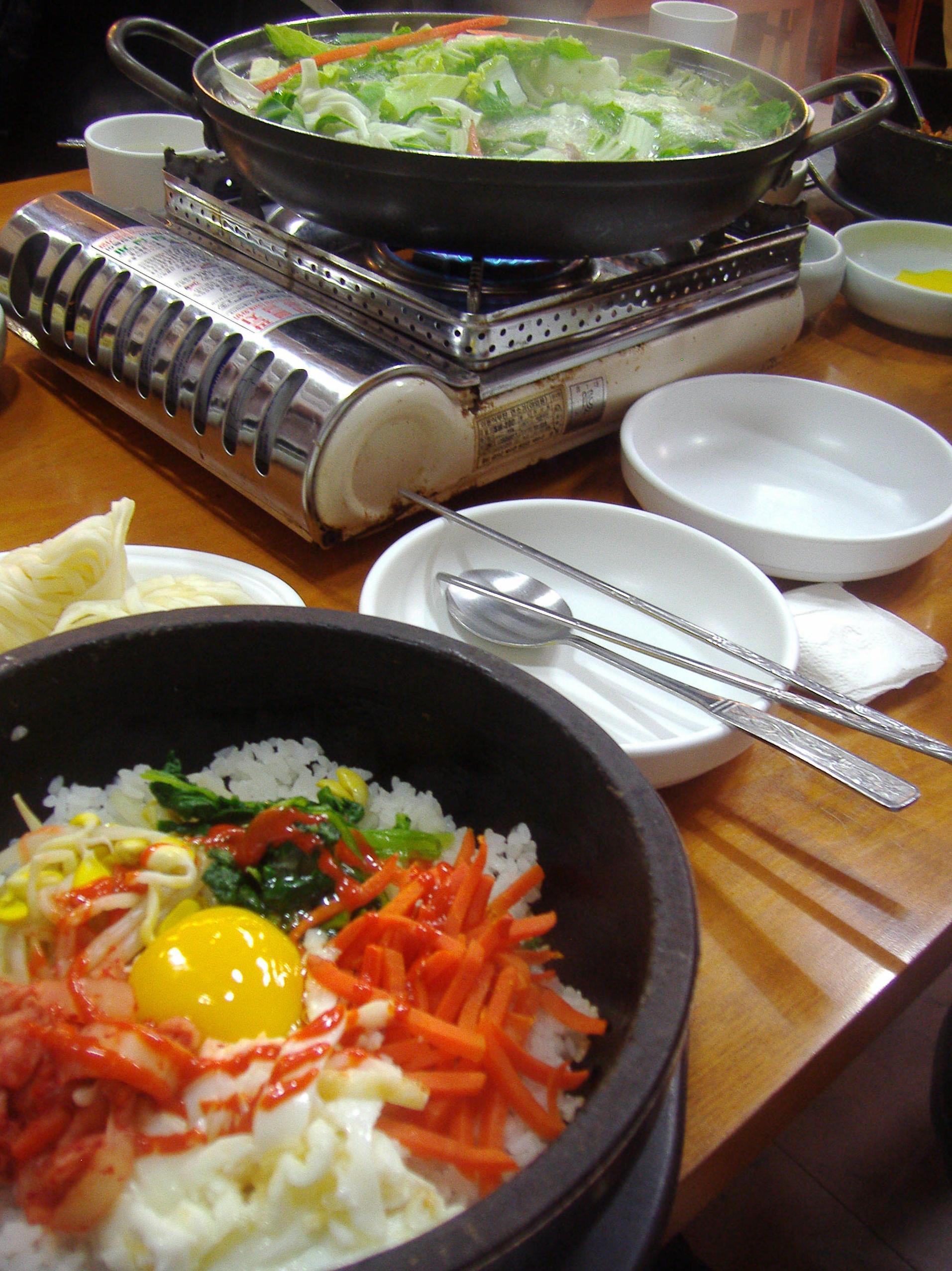 Auténtica cocina coreana en Madrid