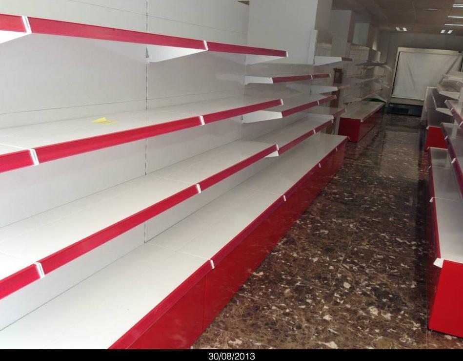 Estanteria Para Baño Segunda Mano:Oferta estanterias de segunda mano Murcia, Estanterias supermercado