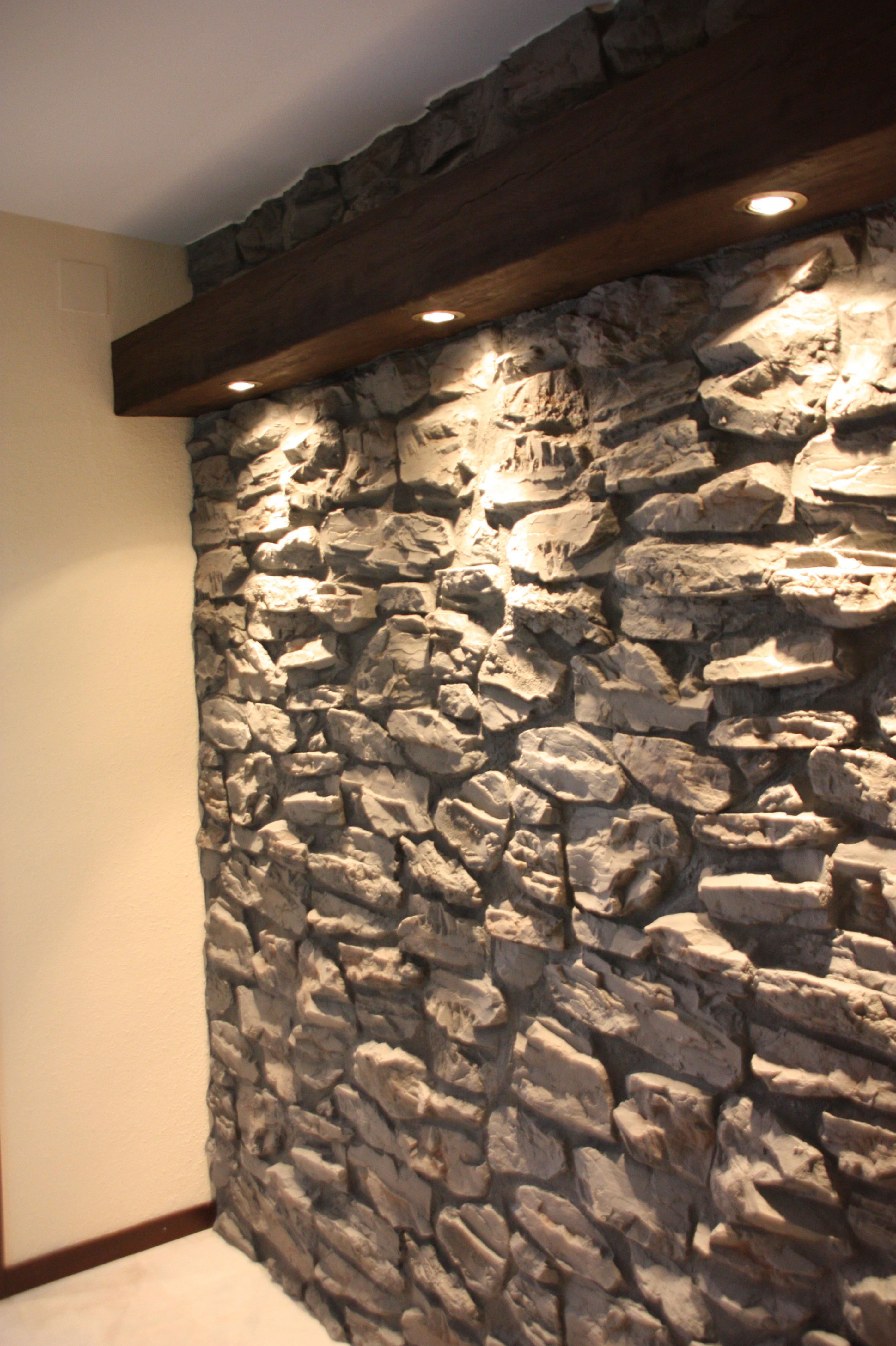 Piedra artificial servicios de albert pintura y decoraci n - Pared de piedra artificial ...