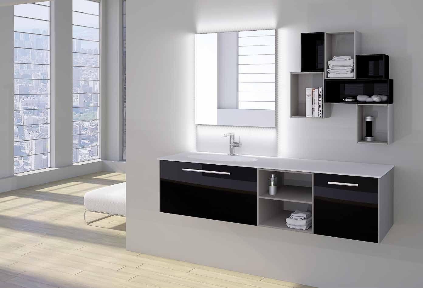 Muebles Para Baño Finos:Mueble de baño Kyrya colección 2014 – Modelo D16: Servicios y