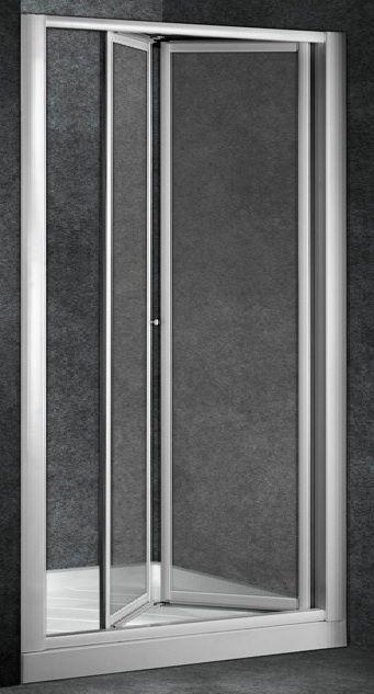 Mampara frontal ducha universal piano 2 hojas plegables for Hojas plegables