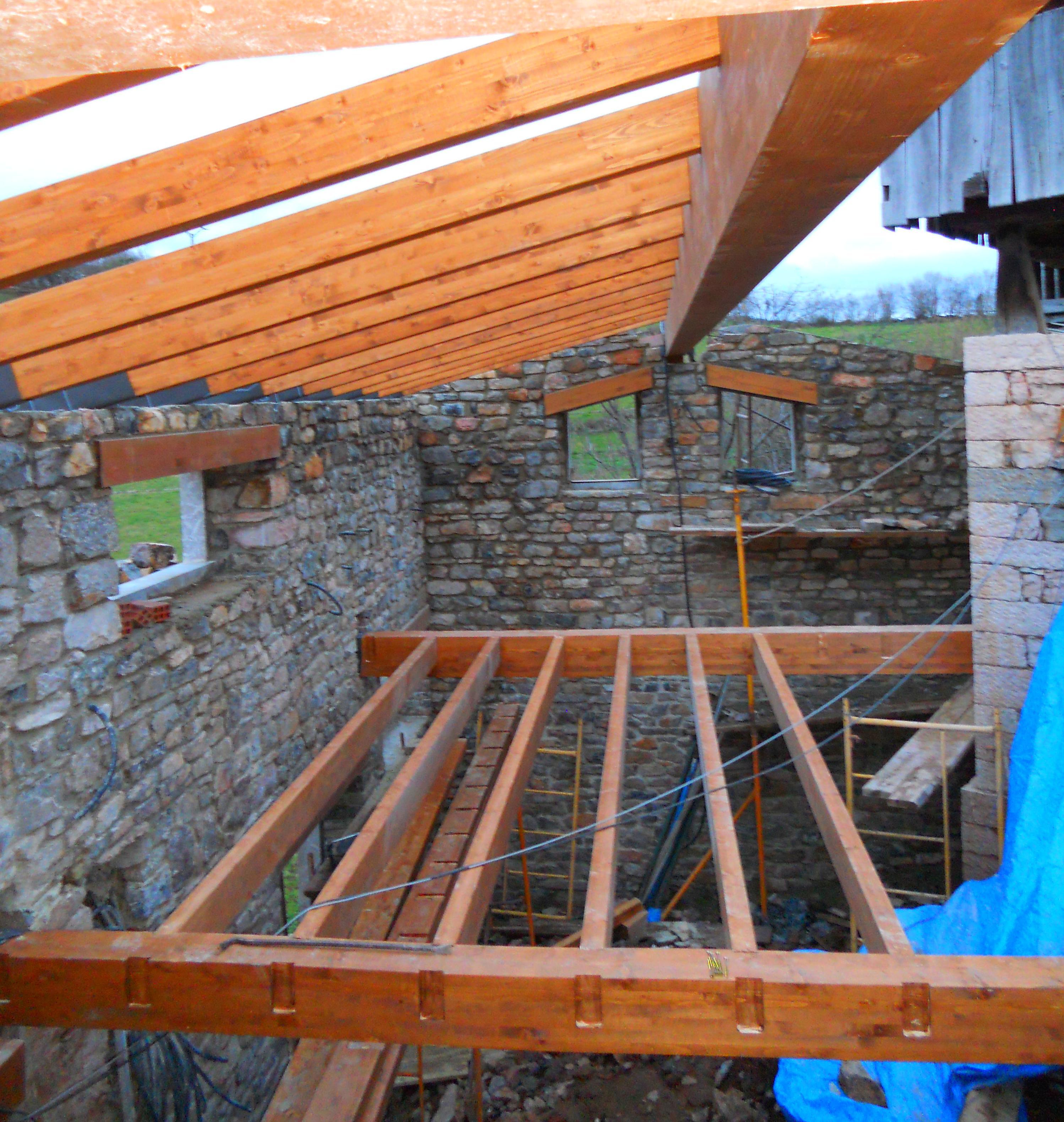 Estructura de madera trabajos de construcciones casta ar - Estructura madera laminada ...