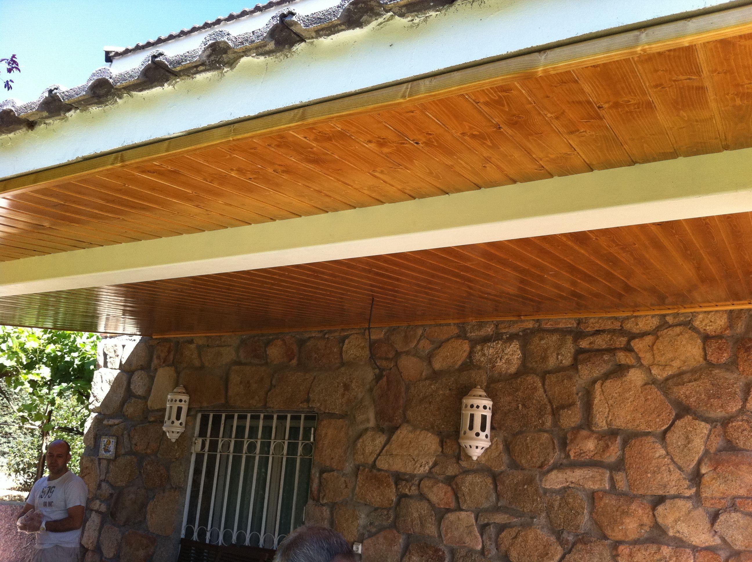 Porche de madera t carpinteria de fern ndez cid - Carpinterias de madera en madrid ...