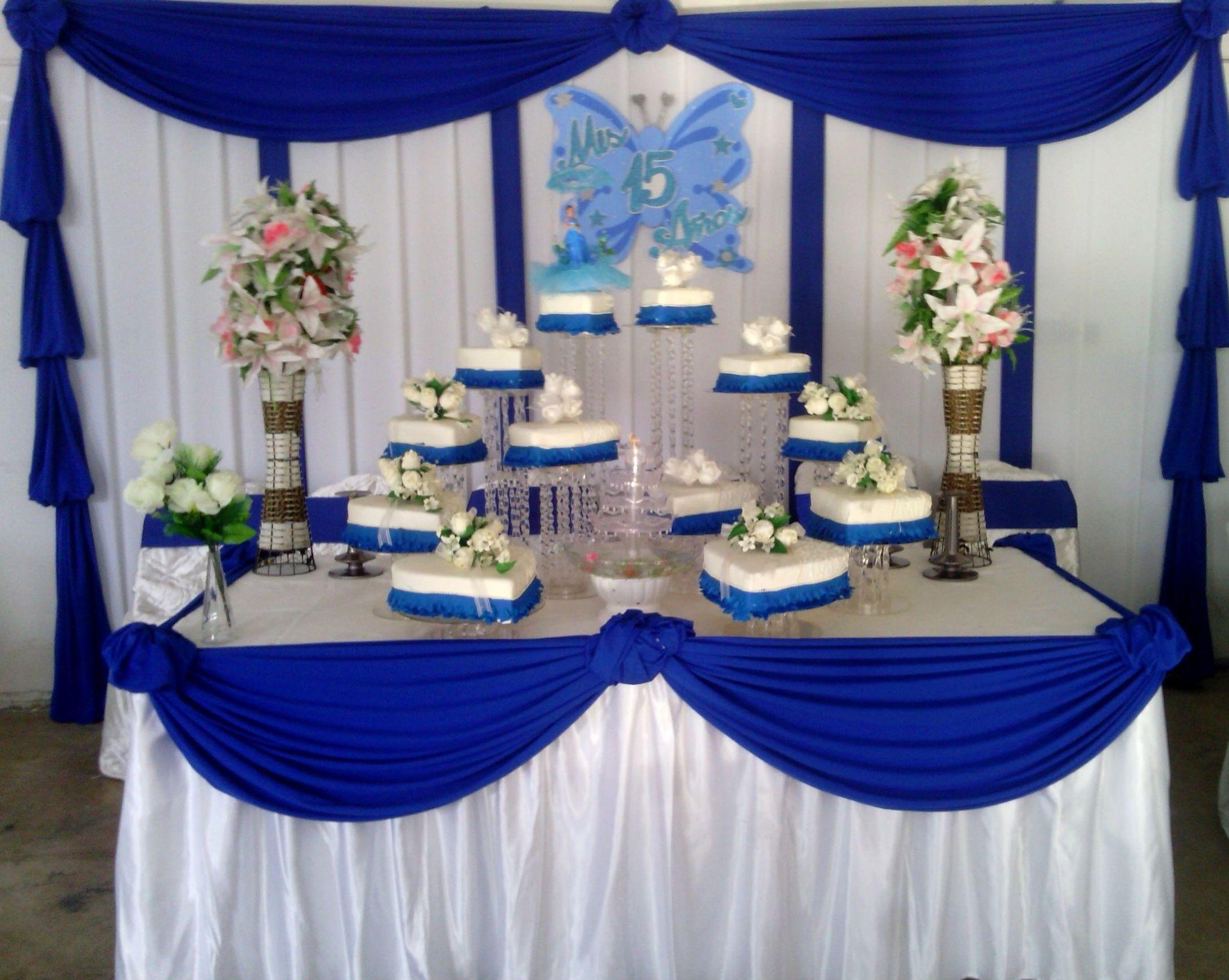 Decoraciones con telas globos para bodas quince aos auto for Decoracion de quinceanera
