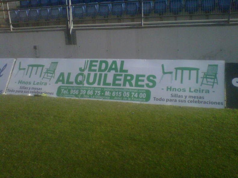 Pancarta Jedal Alquileres