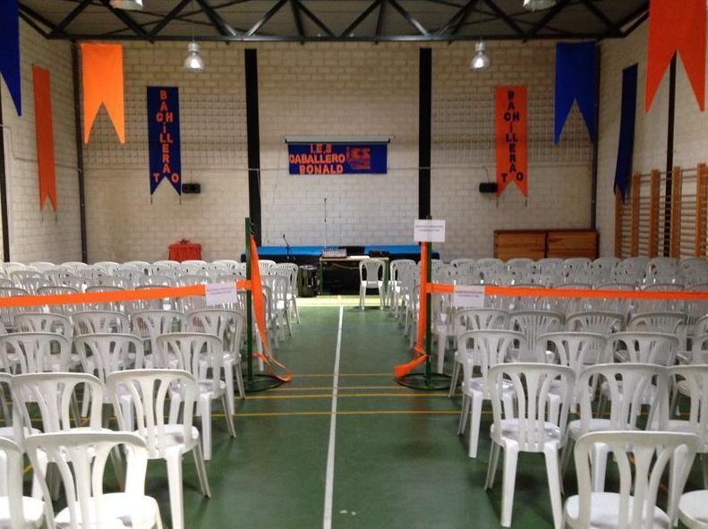 Fiesta de Graduacion: Catálogo de Jedal Alquileres