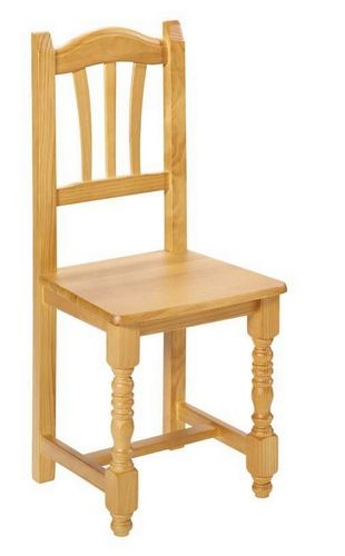 Silla madera maciza cat logo de jedal alquileres for Catalogo de sillas de madera