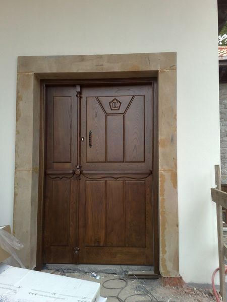 Puertas de madera en asturias carpinter a b p cu tara ib ez - Puertas interior asturias ...