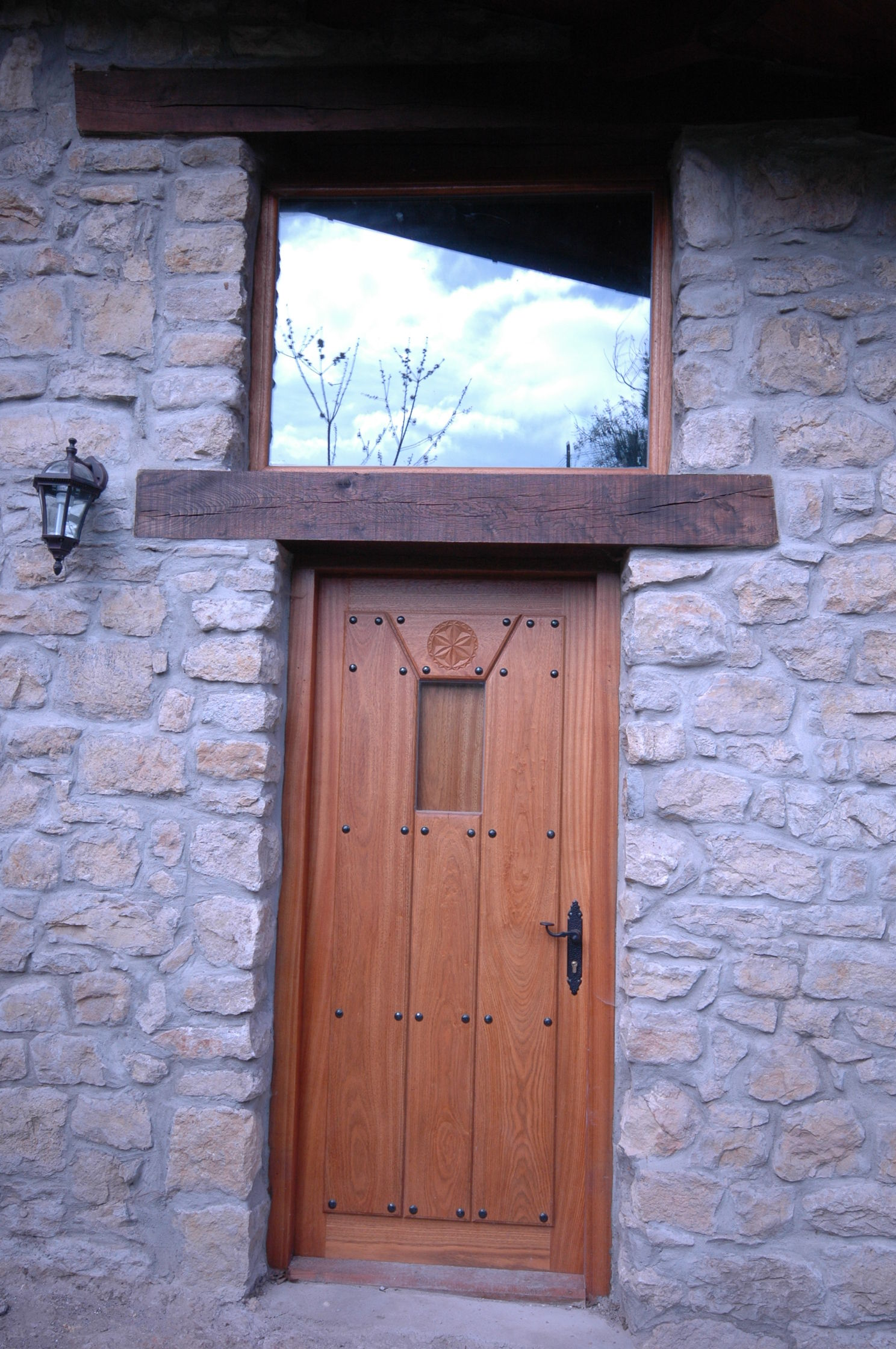 Pe 00121 puerta exterior catalogo de productos de - Puertas exterior asturias ...