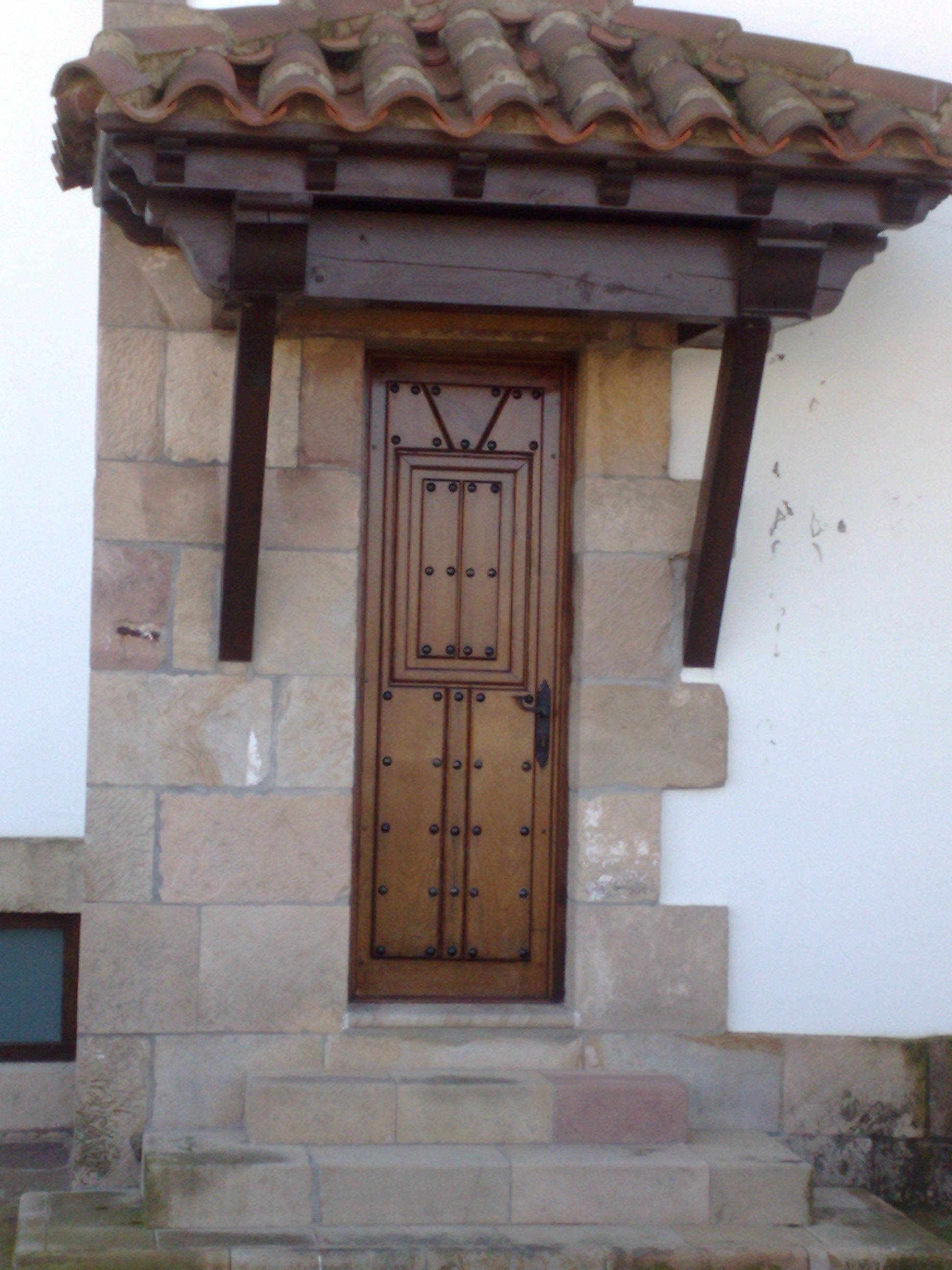 Pe 00126 puerta exterior catalogo de productos de - Puertas exterior asturias ...