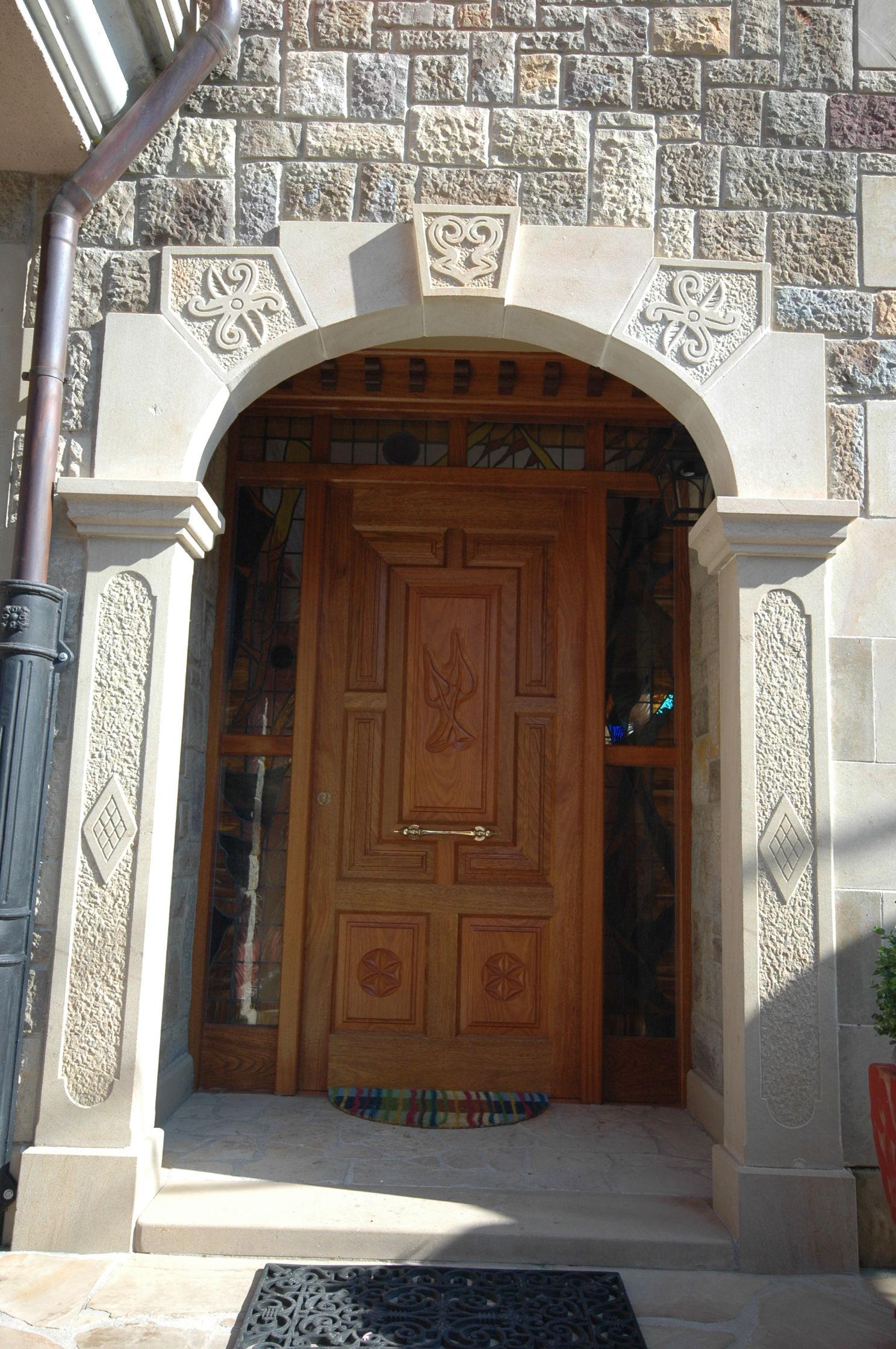 Pe 00172 puerta exterior catalogo de productos de - Puertas exterior asturias ...