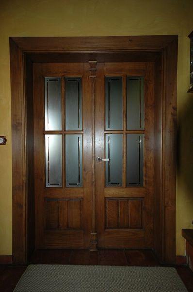 Pi 00217 puerta interior catalogo de productos de carpinter a b p cu tara ib ez - Puertas interior asturias ...