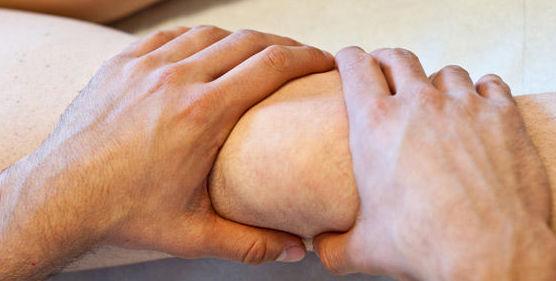 Tratamiento de lesiones con masajes