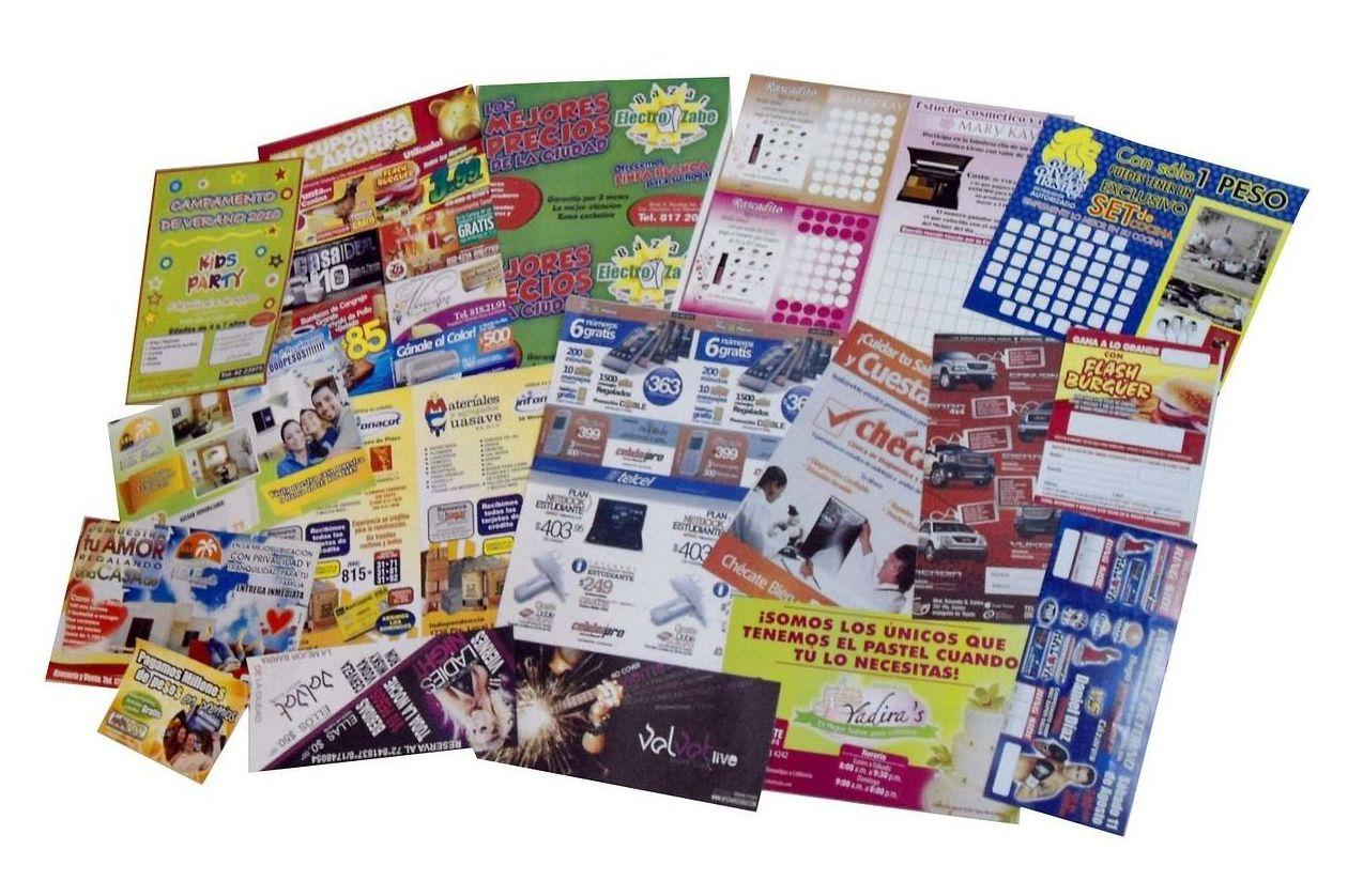 Impresión de folletos en Huelva