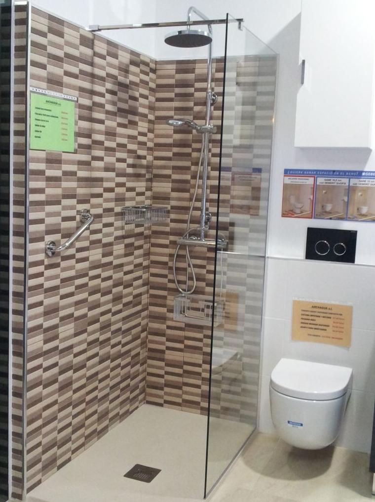 Platos de ducha nuestros servicios y productos de ahchagua for Articulos de ducha