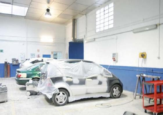 Taller de mecánica general del automóvil