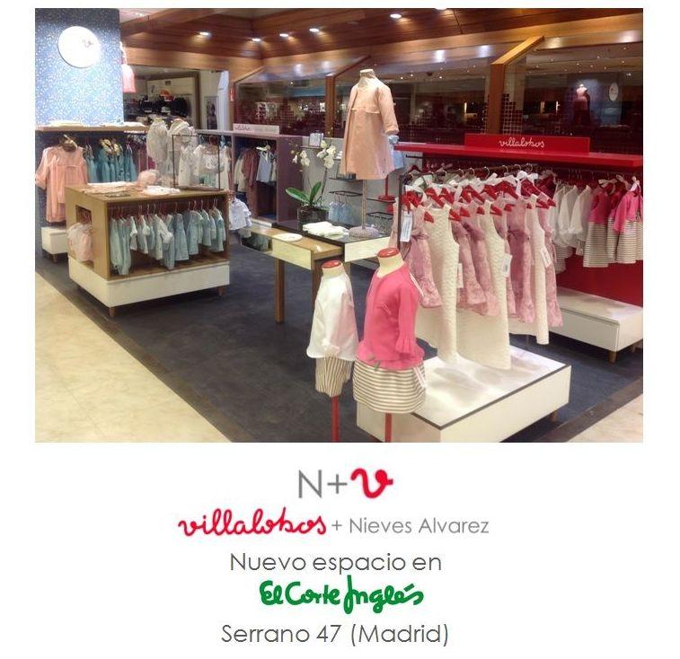 Ejecución proyectos interiorismo y mobiliario comercial sector Retail (Villalobos + Nieves Álvarez)