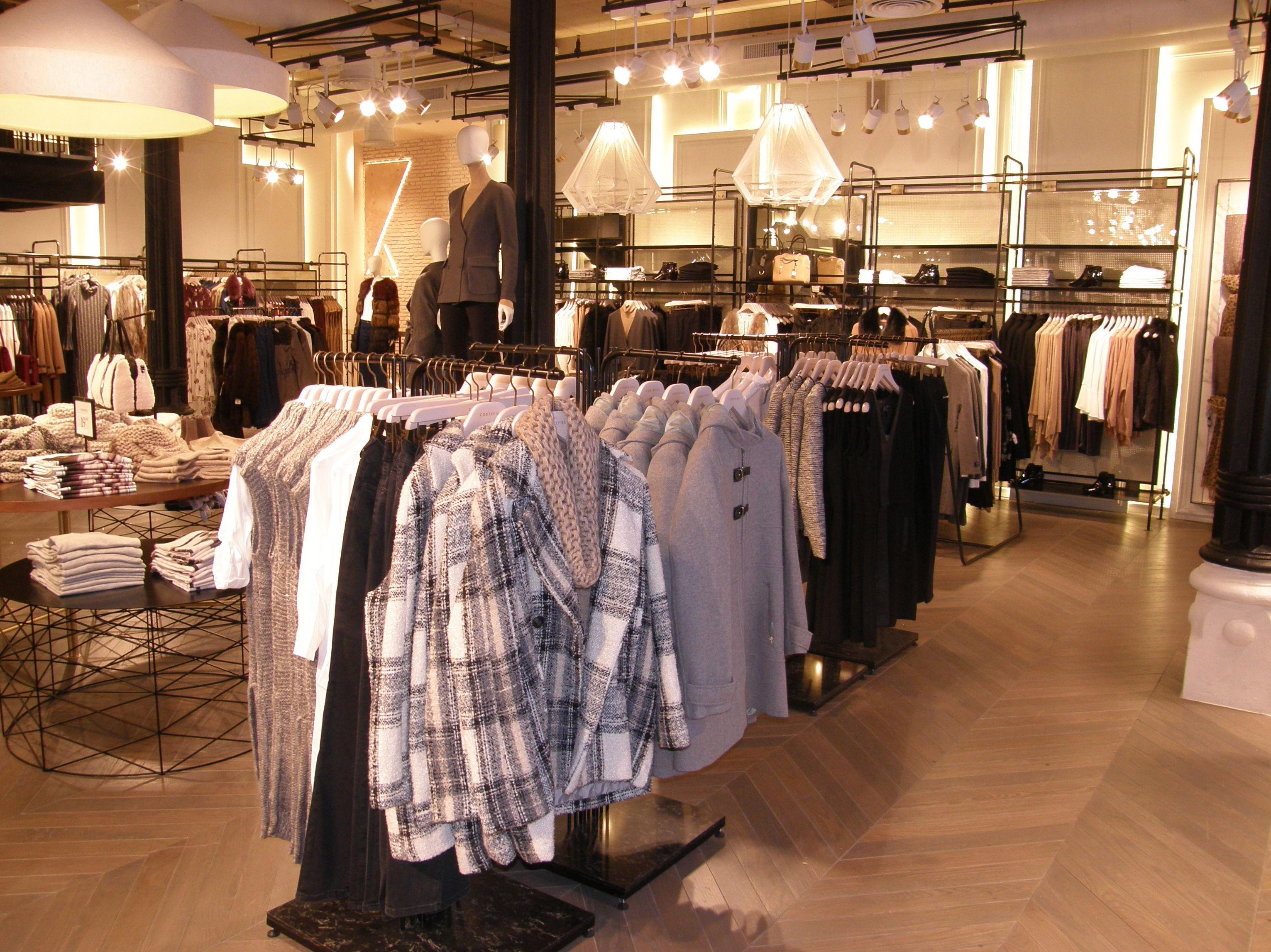 Interiorismo en tiendas de ropa