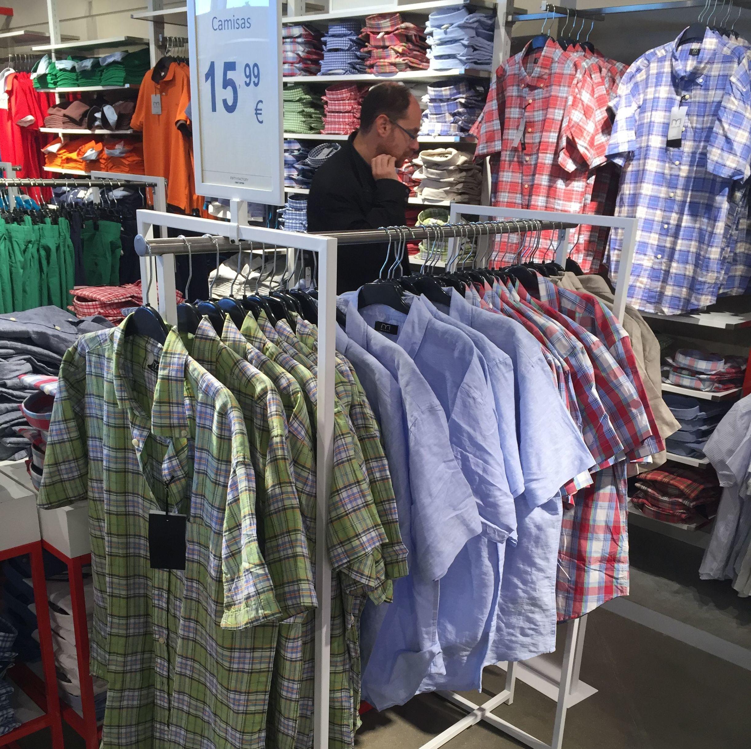 Nuevas aperturas y reformas completas de tiendas Fifty Factory en 2016