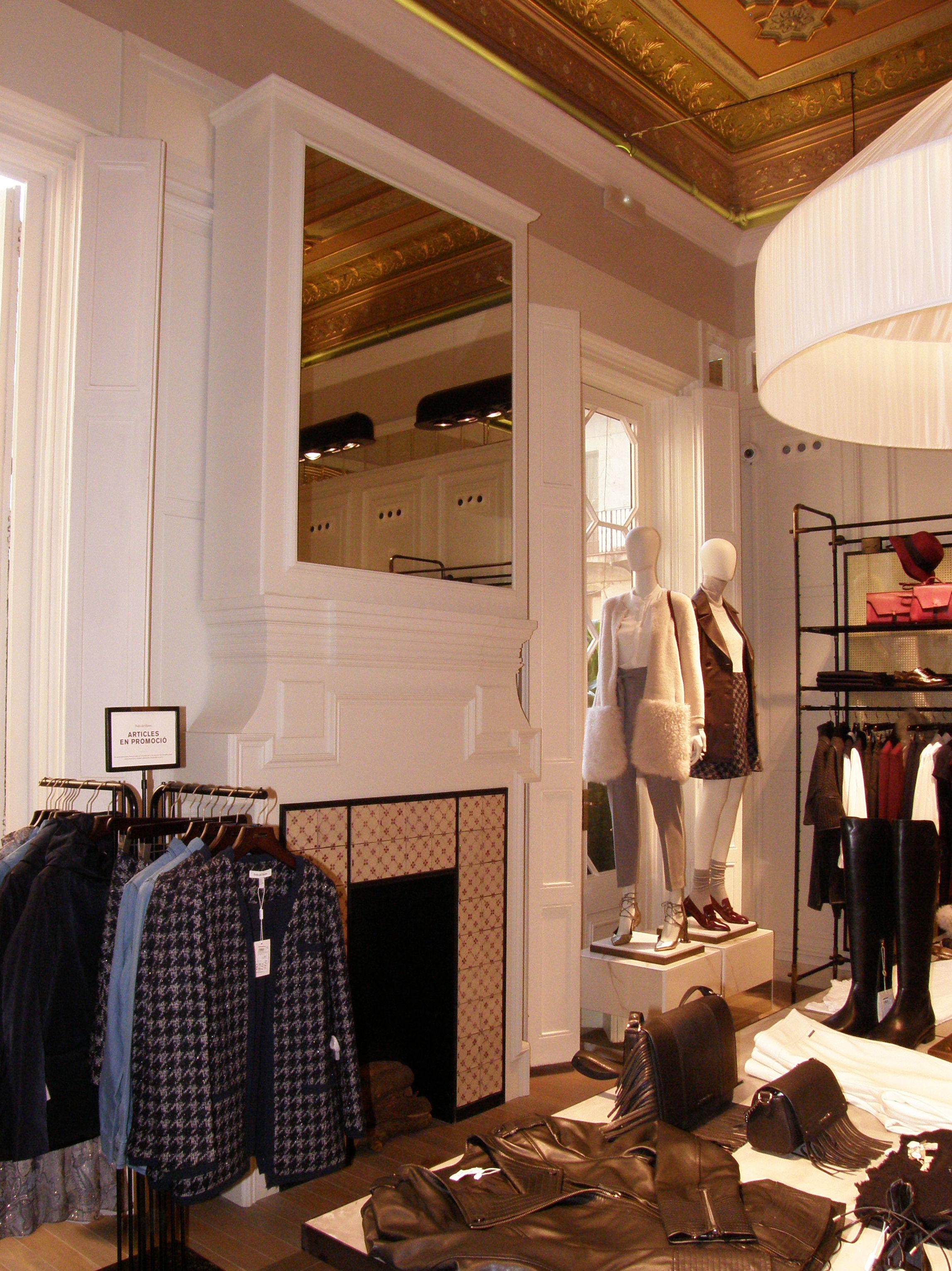 Decoración de tiendas de ropa