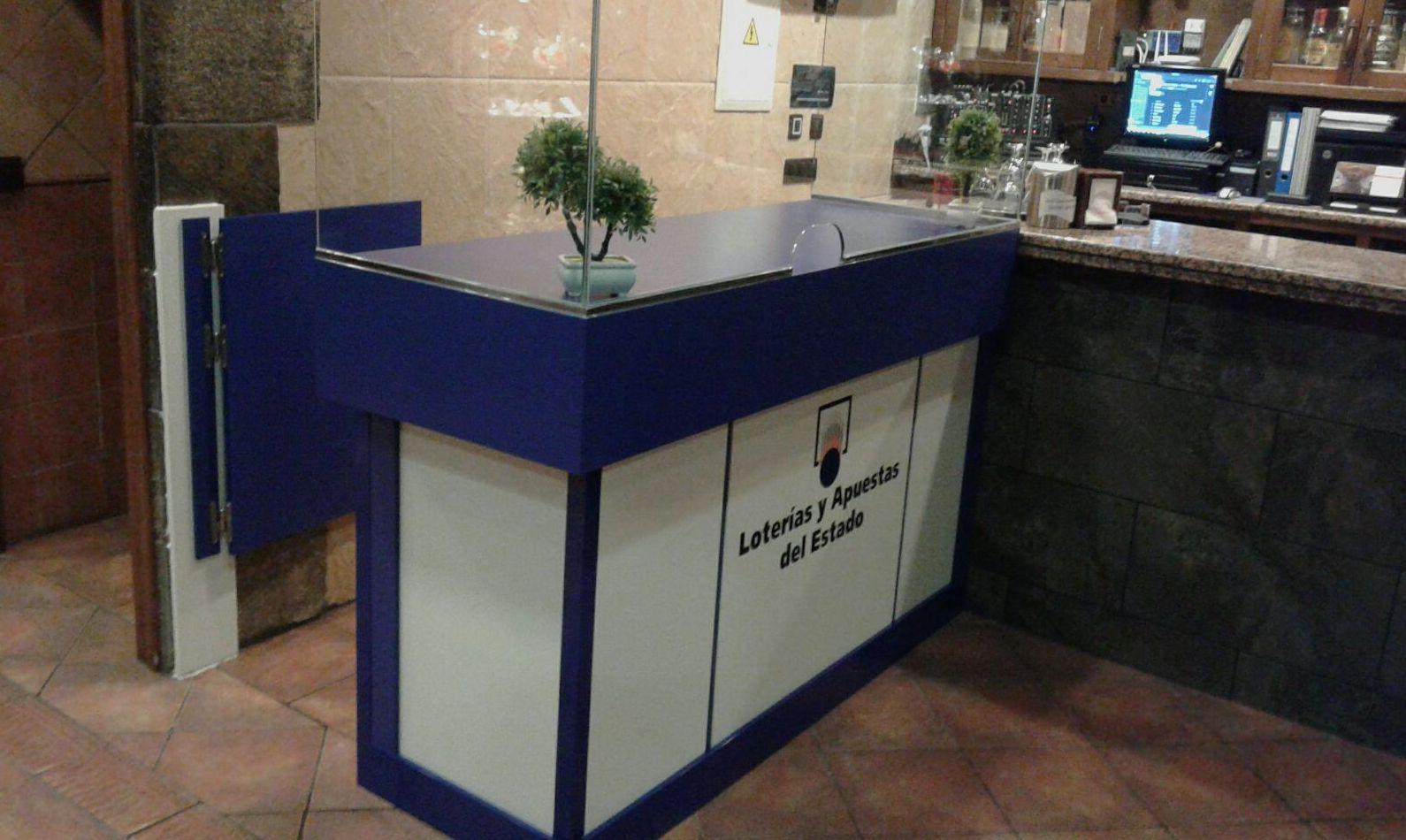 Mobiliario en administraciones de loteria cat logo de escaja for Muebles de cocina zamora