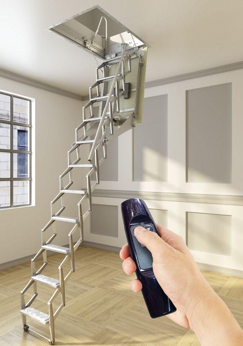 Escalera techo plegable materiales de construcci n para - Escaleras de techo ...
