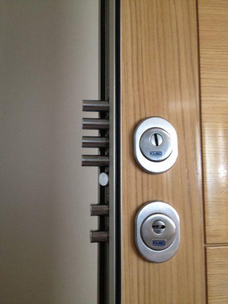 Extra cerradura doble kiuso armarios puertas y tarimas de gercar - Burletes de goma para puertas exteriores ...