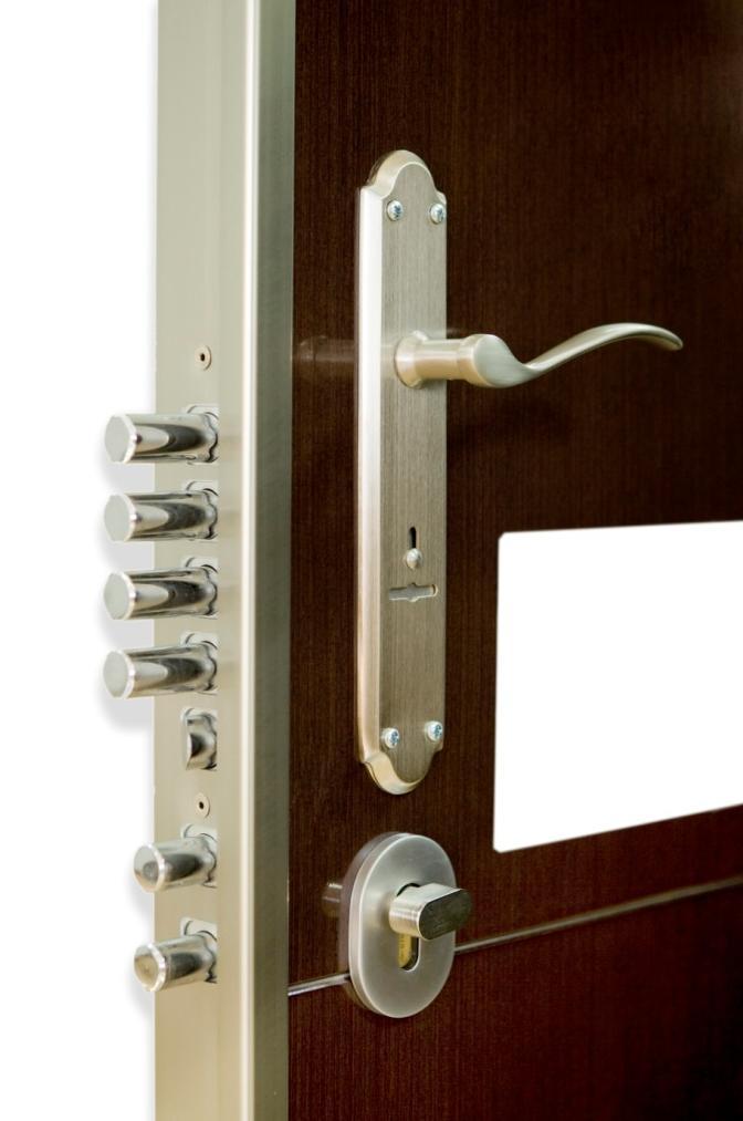 Extra cerradura doble kiuso armarios puertas y tarimas - Cerradura seguridad puerta ...