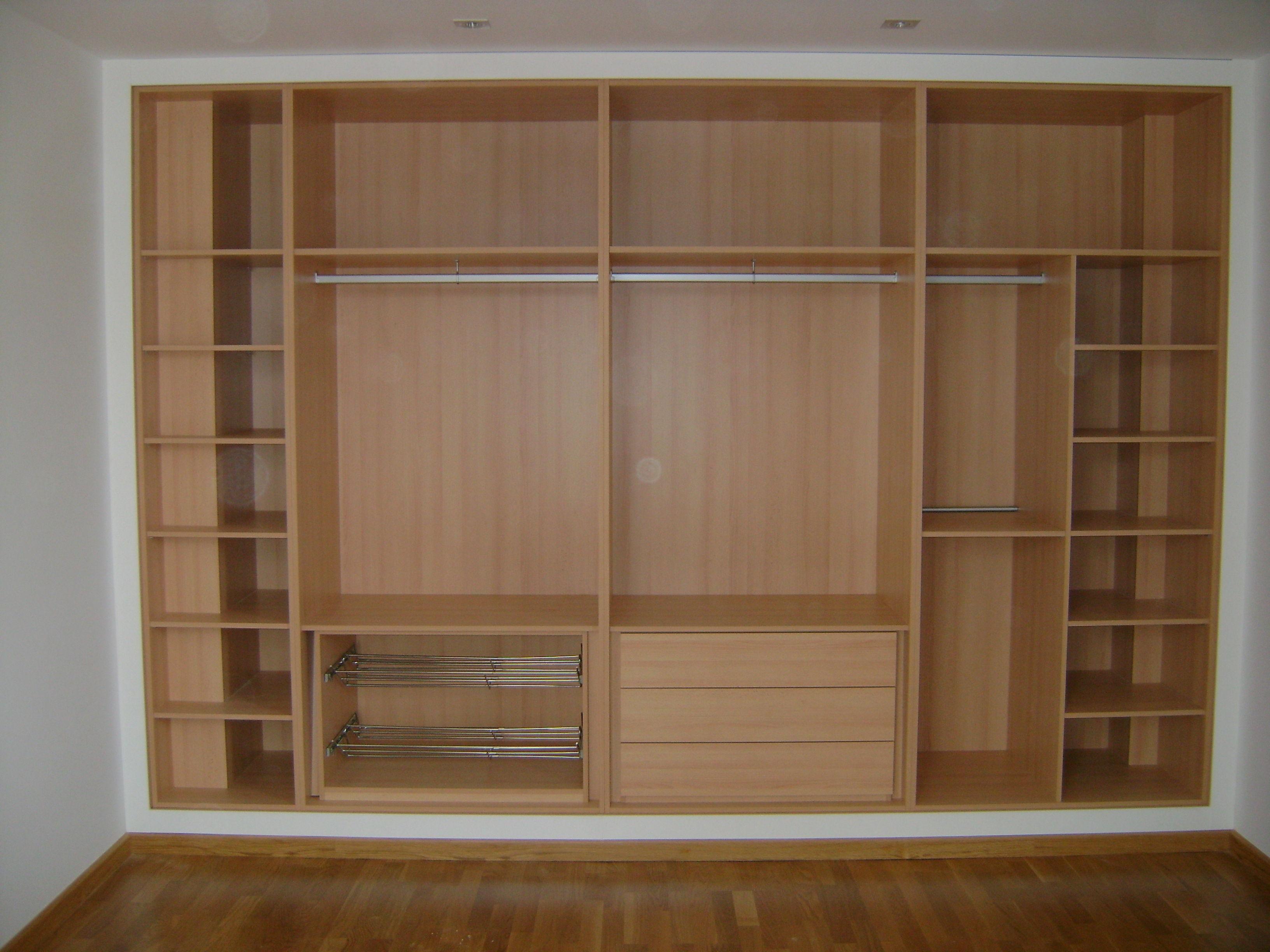 Interior de armarios y vestidores cat logo de carpinter a - Interior de armario ...