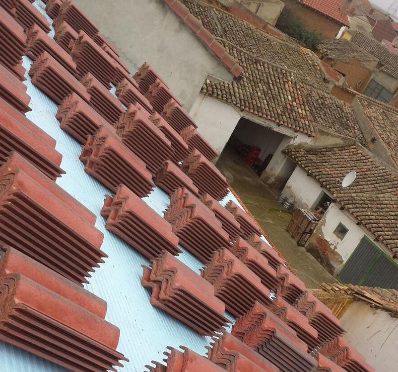 Tejas para rehabilitación de tejados