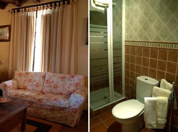 Amplias habitaciones dotadas de todas las comodidades en El Corralón de Perahuy