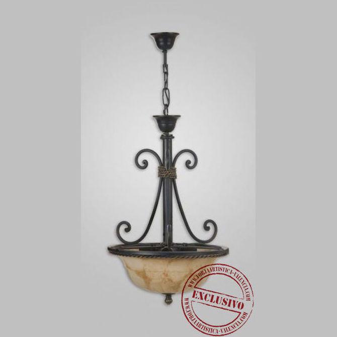 019 colgante de forja cat logo de legua artesanos - Legua artesanos ...