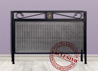 052 cubre radiadores de forja cat logo de legua artesanos - Cubreradiadores de forja ...