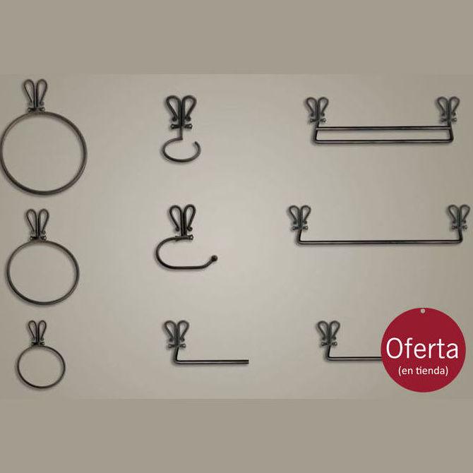 011 accesorios de ba o en forja cat logo de legua artesanos for Catalogo accesorios bano