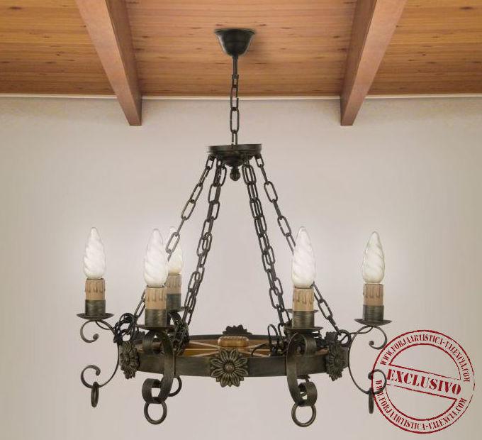 014 l mparas de techo en forja cat logo de legua artesanos - Legua artesanos ...