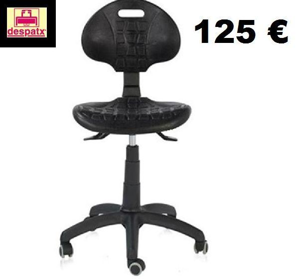 silla industrial para laboratorios, para talleres muy resistente