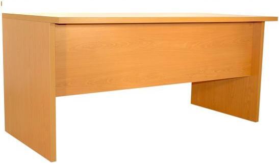 mesa  económica de trabajo con laterales y faldón. Serie solber