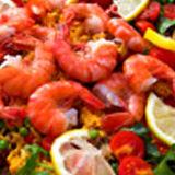 Restaurante especializado en mariscos