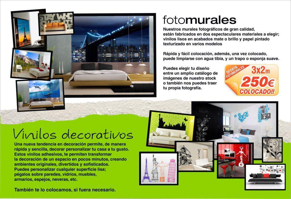 Vinilos decorativos y fotomurales productos de graffiti - Fotomurales y vinilos ...