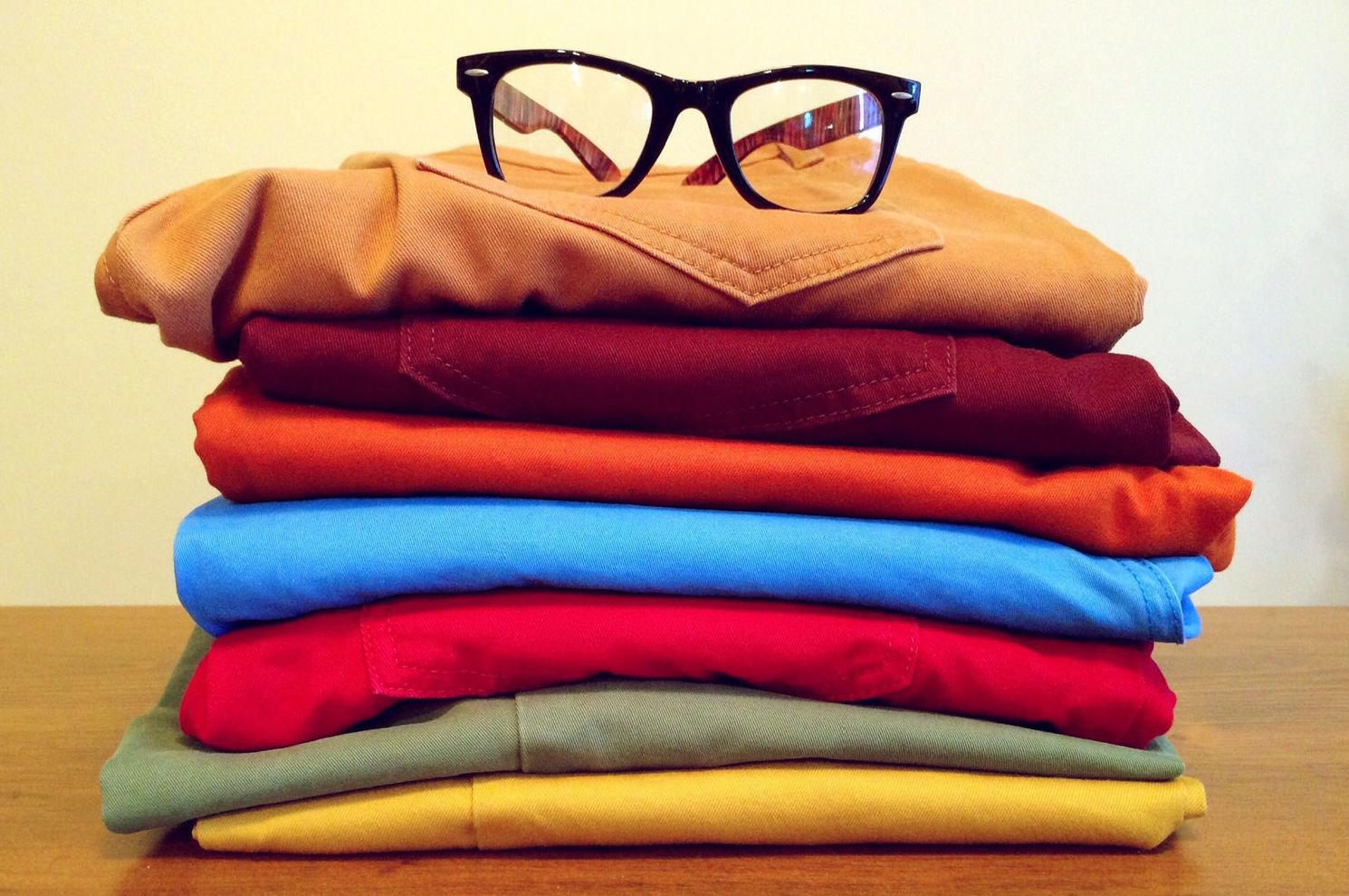 Almacén de ropa usada en Fuenlabrada