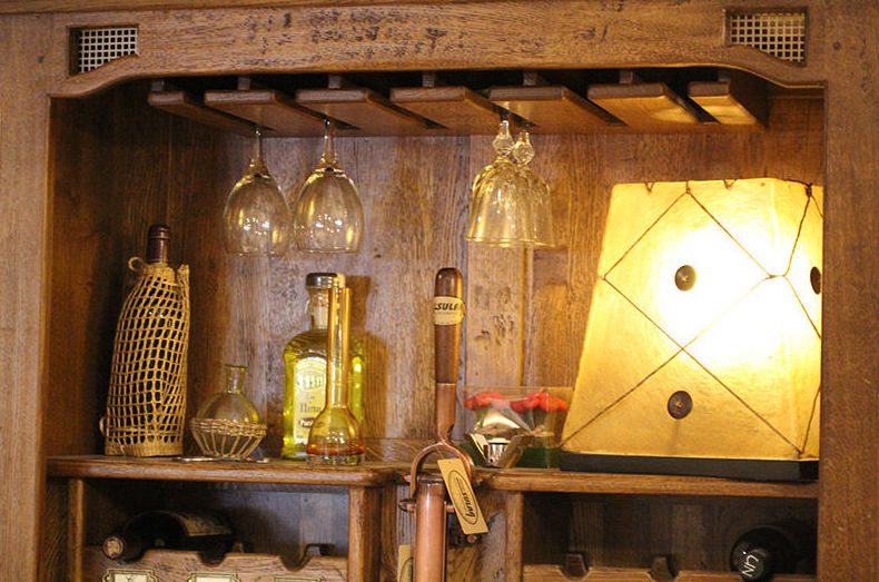 Mueble Bar Roble Artesanal Catálogo de Dekosular Decoración