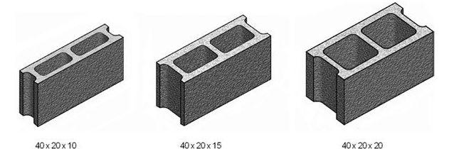 Medidas de bloques de hormigon materiales de for Bloques de hormigon baratos