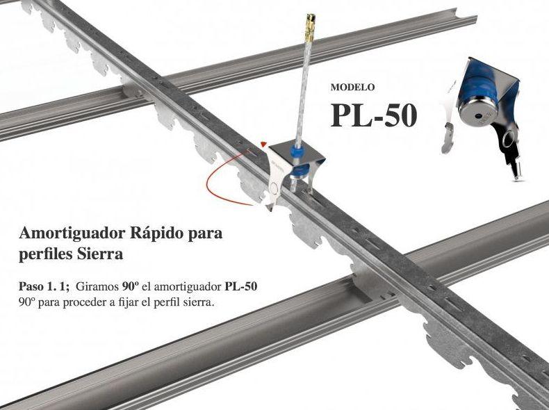 Perfiler a para sistemas pladur nuestros productos de for Placas de pladur para techos